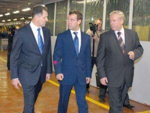 Д. Медведев подгрузит ИжАвто