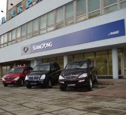 Во Львове раскрылся свежий автосалон СанЙонг