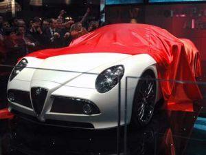 Альфа 8C Спайдер объявлен самым прекрасным авто всех времен
