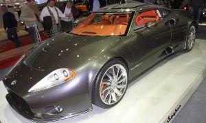 Обанкротившийся Spyker сделал свежий супер-кар