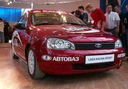 Лада Калина Sport будет на Украине не ранее 2009 года