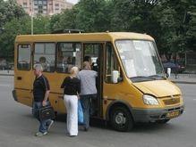 Автолюбители маршрутных такси продолжают стачку