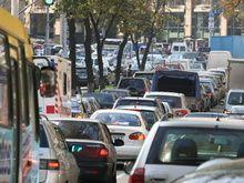 Из-за маршруток в центре Киева урезано перемещение автотранспорта