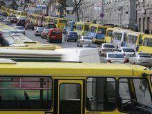 Центр Киева независим: маршрутчики восстанавливают деятельность