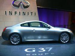 На рынке Украины начнутся реализации нового спорт-купе Инфинити G37