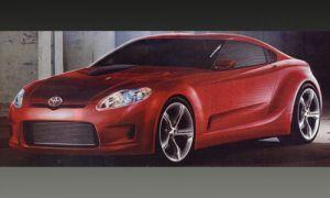 Вышли первые картинки следующего поколения Тойота Супра