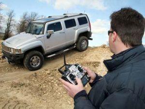 Hummer H3 можно распоряжаться по радио