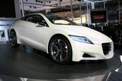 Концепт CR-Z появился в Европе