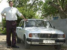 Ющенко даст высочайшему человеку приспособленный под него авто