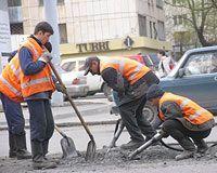 В Киеве починят автодороги