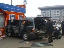 Пальба на киевском вокзале: из внедорожника своровали млн