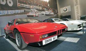 Авто БМВ М1 исполнилось 30 лет