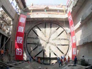 В КНР прорыт самый обширный во всем мире туннель
