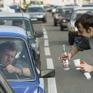 Любой седьмой француз раз усаживался за руль пьяным