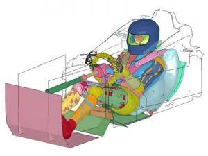 Тойота сделала свежий гоночный симулятор THUMS