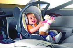 Половина заднего сиденья - самое безопасное место в автомобиле для малышей