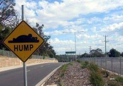 В Австралии кто-то вешает забавные автодорожные знаки
