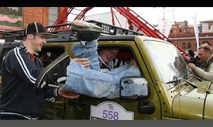 Поляки установили рекорд по вместительности Джип Вранглер