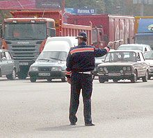 ГАИ продолжает процедуру Автобус-2008