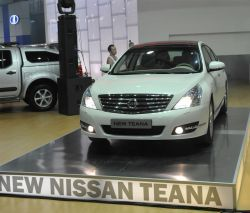 Организация «Ниссан Двигатель Украина» представляет на рынке Украины свежую Ниссан Теана.