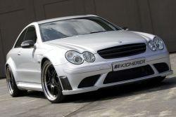 Свежий Мерседес CLK63 AMG White Edition от Kicherer