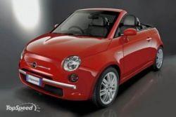 Каким будет свежий Фиат 500 Кабрио?