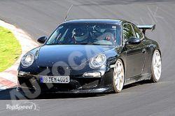 Разведывательные фото нового Порше 911 ДжиТи3 RS!