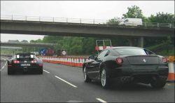 В Англии за превышение дозволенной скорости оштрафован автолюбитель Bugatti Veyron!