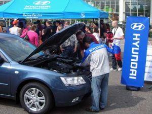 Хендай совершенно бесплатно обслуживает машины