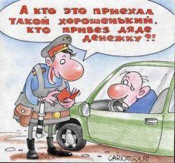 На российских трассах будет больше сотрудников ГАИ
