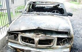 В Киеве завелся маньяк-поджигатель