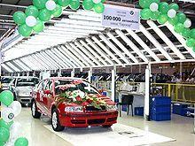 На автозаводе «Еврокар» произведен 100 000-й авто