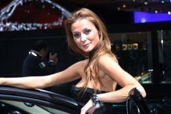 Самые лучшие женщины автомобильного салона во Франкфурте
