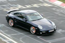 Разведывательные фото модернизированного Порше 911 Турбо!