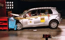 Итоги испытания Гольф VI по системе Евро NCAP