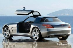 Как будет смотреться свежий суперкар Mercedes-AMG Gullwing?