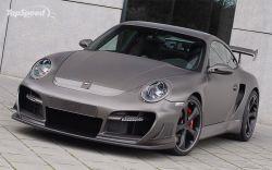 Представлен свежий Techart GTstreet, сделанный на основе Порше 911 Турбо!