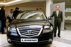 Седан премиум-класса Хонда Legend на Украине!