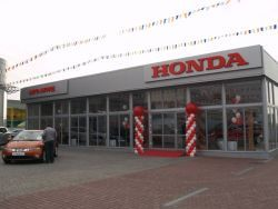 Хонда поражает Закарпатье