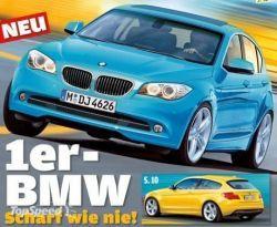 Свежий БМВ 1-Series будет показано в 2012 году