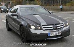 Новые разведывательные фото нового купе Мерседес-Бенц E-Класса Купе!