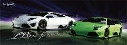Суперкар Ламборгини Мурселаго доделали в тюнинг-ателье LB Performance