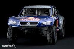 В Лос Анджелесе представлен раллийный Фольксваген Race Туарег TDI Трофи Truck!