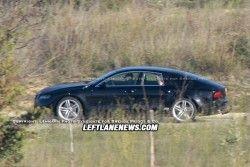 Первые разведывательные фото нового Ауди A7!