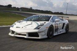 Ламборгини Супер Trofeo вышел на автотрассу!