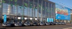 БМВ Hydrogen 7 – формальный авто XIV пресс-конференции НАТО об изменении климата.
