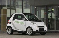 Даймлер начнет проверять электро-Smart в Италии