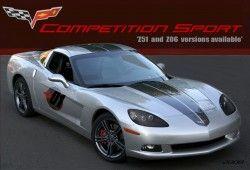 General Motors представляет Шевроле Корветт Competition Sport Package 2009