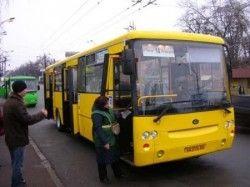 В определенных общественных автобусах Киева не работают льготы