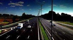 На автодороге Киев - Борисполь установлена эксклюзивная технология регулирования автодорожным ходом